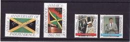 Jamaïque 1987 Commémoration De L'indépendance**  Et 1986 Visite Princière** - Jamaique (1962-...)
