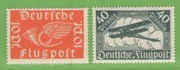 MiNr. 111-112  Xx Deutsches Reich - Deutschland