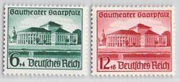 MiNr. 673-674 X Deutsches Reich - Deutschland