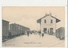 21 POMMARD LA GARE CPA BON ETAT - Gares - Avec Trains