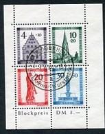 Colonie Française, Occupation En Allemagne, Bade, Bloc 2A Oblitéré ; Allierte Besetzung, Baden Michel Block 1A - Zone Française
