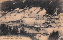 Saint St Gervais Les Bains (74) - Village Des Pratz - Vue D'Hiver - Saint-Gervais-les-Bains
