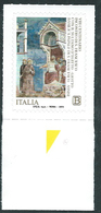 """Italia, Italy, Italien 2019; GIOTTO Dipinge San Francesco In """"La Prova Del Fuoco Davanti Al Sultano"""",Saint Francis. - Religione"""