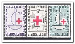 Sierra Leone 1963, Postfris MNH, 100 Years International Red Cross - Sierra Leone (1961-...)