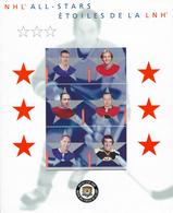 CANADA - All-stars - Étoile De La L.N.H - Hockey Sur Glace - Année 2002 - Scott 1935 - Blocs-feuillets
