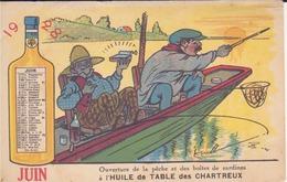 Huile De Table Des Chartreux - Publicité