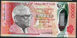 MAURITIUS NLP 2000 RUPEES 2018 #PA     UNC. - Mauritius
