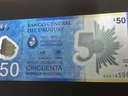 URUGUAY NLP 50 Pesos Comm. 2018 UNC. - Uruguay