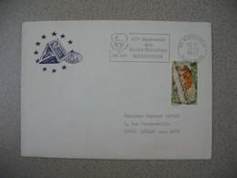 Lettre 1977  - Conseil De L'Europe 40 è Anniversaire De La Société Philatélique  Riedisheim  Pour Aulnay - Storia Postale