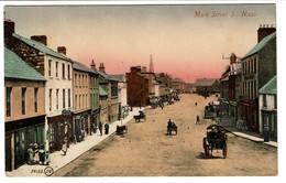 Naas - Kildare - Irland - Main Street S. - Valentines' Dublin - 2 Scans - Irlande
