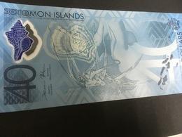 SOLOMONS P37 40 Dollars 2018 Commemorative UNC. - Solomon Islands