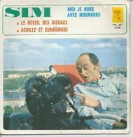"""45 Tours EP - SIM  - EM 5708 -   """"  MOI JE DORS AVEC NOUNOURS """" + 2 - Vinyles"""