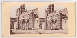 Stereoscopische Kaart.    PALERMO.  Cathédrale - Cartes Stéréoscopiques