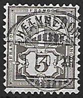 Schweiz Suisse  1894: Faser-papier Melée Zu 59B Mi 51Y Yv 64 - 3c Grau Mit Voll-o MÄNNEDORF 5.I.01 (Zu CHF 14.00) - 1882-1906 Armoiries, Helvetia Debout & UPU