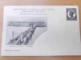 Queensland Postwaardestuk 1898 - Rockhampton