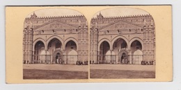 Stereoscopische Kaart.    SICILY. Palermo.  Portico Of The Dome - Cartes Stéréoscopiques
