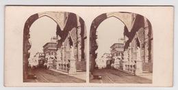 Stereoscopische Kaart.    SICILY. Palermo.  Entrée Principale Du Dome - Cartes Stéréoscopiques