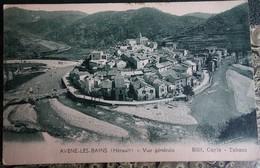 Cpa - 34 - Avene Les Bains - Vue Générale (édit Cayla Tabacs) - Otros Municipios