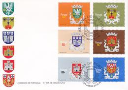 Portugal -FDC -Brasões De Portugal - FDC