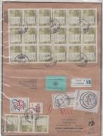 JOUGOSLAVIA REGISTERED MICHEL 1562, 1584 (21) MATICA SRPSKA - 1945-1992 République Fédérative Populaire De Yougoslavie