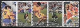 BURIATIA  N° Oblitere  Cup 1998 Football Soccer Fussball - Coupe Du Monde