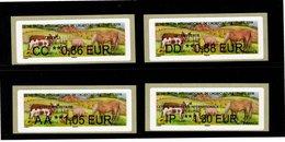 LISA 2 --4 Valeurs Moins De 20g--  SALON INTERNATIONAL DE L'AGRICULTURE-- PARIS 2019- - 2010-... Illustrated Franking Labels