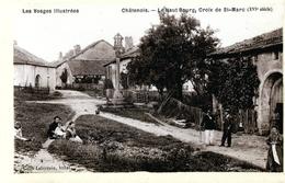 88. VOSGES - CHÂTENOIS. Le Haut Bourg, Croix De St-Marc (XVI° Siècle). Qualité Photo. - Chatenois