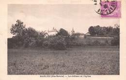 Marlioz (74) - Le Château Et L'église - Frankrijk