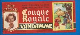 94 - CHOISY-LE-ROI - BUVARD ILLUSTRÉ - PAIN D'ÉPICES VANDAMME - COUQUE ROYALE - HISTOIRE DE FRANCE - SAINT-LOUIS -N°6 - Pain D'épices