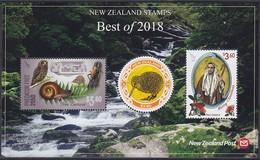 2019 NOUVELLE-ZÉLANDE New Zealand Best Of 2018 ** MNH . . . . [ee38] - Eulenvögel