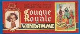 94 - CHOISY-LE-ROI - BUVARD ILLUSTRÉ - PAIN D'ÉPICES VANDAMME - COUQUE ROYALE - HISTOIRE DE FRANCE - PHILIPPE LE BEL-N°7 - Pain D'épices