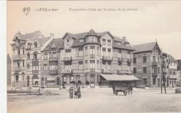 "De Haan - Le Coq, Nouvelles Villas De La Station,  BRIEFSTEMPEL "" Kaiserliche Marine, 2 Abt. II. Matrosen Regiment "" - De Haan"