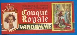 94 - CHOISY-LE-ROI - BUVARD ILLUSTRÉ - PAIN D'ÉPICES VANDAMME - COUQUE ROYALE - HISTOIRE DE FRANCE - CHARLES VII -N°8 - Gingerbread