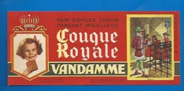 94 - CHOISY-LE-ROI - BUVARD ILLUSTRÉ - PAIN D'ÉPICES VANDAMME - COUQUE ROYALE - HISTOIRE DE FRANCE - LOUIS XI -N°9 - Pain D'épices