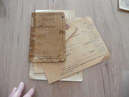 Archive Militaire Classe 1908 Scordino Infirmier Militaire Tirailleurs - Documents