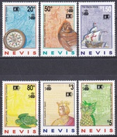 Nevis 1992 Geschichte History Entdeckungen Discovery Amerika Kolumbus Columbus Kompass Kunst Arts, Mi. 677-2 ** - St.Kitts-et-Nevis ( 1983-...)