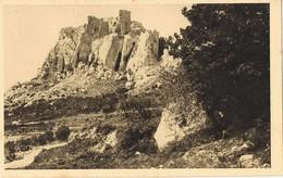 32077. Postal LES BAUX (Bouches Du Rhone). Ruines Du Chateau - Les-Baux-de-Provence