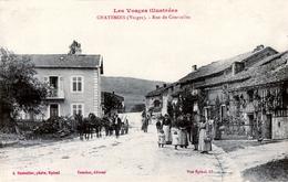 88. VOSGES - CHÂTENOIS. Rue De Courcelles. - Chatenois