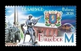 Belarus 2018 Mih. 1256 City Of Vitebsk. Arms. Monuments. Music. Slavianski Bazaar. Painter Marc Chagall MNH ** - Belarus