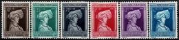 1936 Série Caritas Aide à L'Enfance,neuf,  Michel 2019: 296-301, Valeur Catalogue: 50€  2Scans - Luxembourg