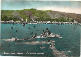 W2064 Roseto Degli Abruzzi (Teramo) - La Ridente Spiaggia - Panorama Dal Mare / Viaggiata 1958 - Italia