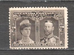 Canada 1908 Mi 84 MH - 1903-1908 Règne De Edward VII