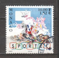 Monaco 1999 Mi 2467 Canceled - Used Stamps