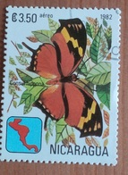 """Papillon """"Anaea Fabius"""" (Insecte) - Nicaragua - 1982 - Nigeria (1961-...)"""