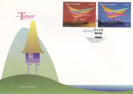 Portugal -FDC -Timor - FDC