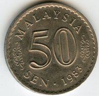 Malaysie Malaysia 50 Sen 1983 KM 5.3 - Malaysie