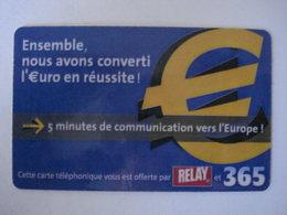 Carte Prépayée Française (utilisé Luxe). - France