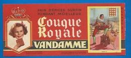 94 - CHOISY-LE-ROI - BUVARD ILLUSTRÉ - PAIN D'ÉPICES VANDAMME - COUQUE ROYALE - HISTOIRE DE FRANCE - HENRI III - N°11 - Pain D'épices