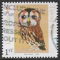 Isle Of Man 2016 Matt Sewell's Birds 1st Type 5 Self Adhesive Good/fine Used [39/32049/ND] - Isle Of Man