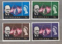 St. HELENA 1966 W. Churchill  MNH(**) Mi 171-174 #24164 - Sir Winston Churchill